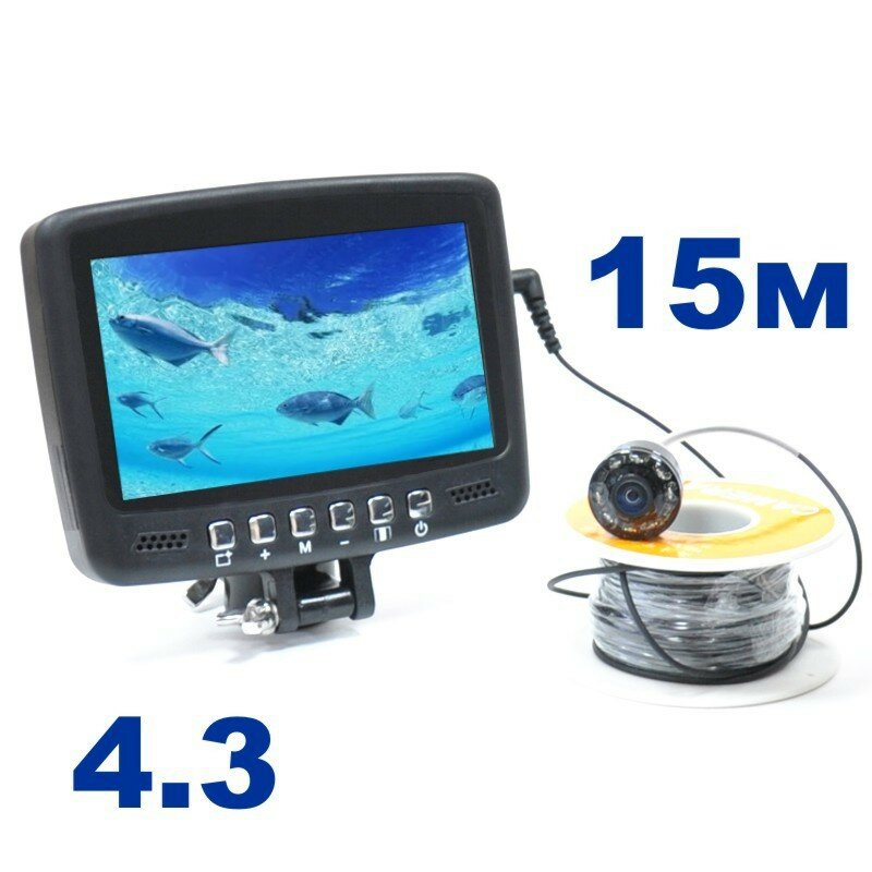 Подводная камера для рыбалки Fishcam plus 700+DVR